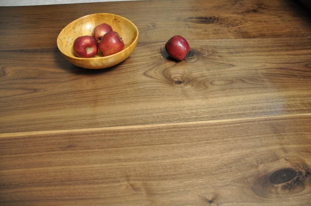 Wide Plank Character Walnut Wood Floor