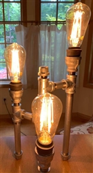 Industrial Chic Lamp