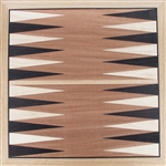 GB-5 | Marquetry Backgammon Board