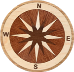 IPWM-18-4 (Sea Bright)  | Hardwood Medallion