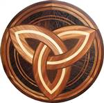 IPWM-616 (Celtic Trinity)  | Hardwood Medallion