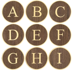 Alphabet Letters A-I