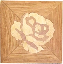 CR-White Rose | Corner Border Accent