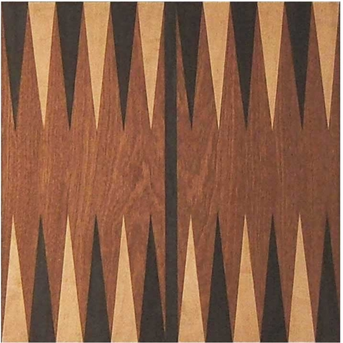 Gb 04nb Marquetry Backgammon Board