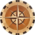 MC05 (Alcott)  | Hardwood Medallion