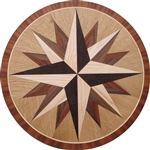 IPWM-10D Avalon | Hardwood Medallion