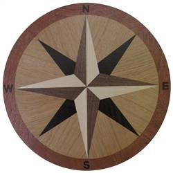 IPWM-16 Margate | Compass Rose Medallion