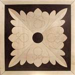 IPWM-504 (Flower Square)  | Hardwood Medallion
