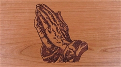 Praying Hands Panel