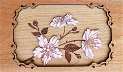3D Cherry Blossom Panel
