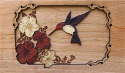 3D Hummingbird Panel
