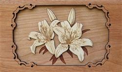 3D Lilly Panel