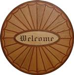 Thematic | 'Welcome' Medallion