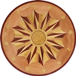 MD-101-S (Star)  | Hardwood Medallion