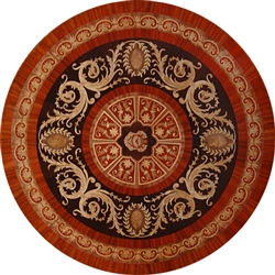 MD-113-A1 (Arinda)  |  Hardwood Medallion