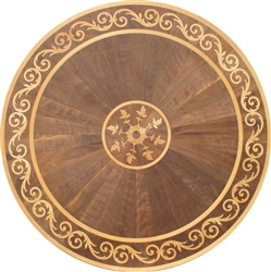 MD-151-A1-S (Vienna)  |  Hardwood Medallion