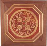 PL-600-A1-S (Octagon Panel)  | Hardwood Panel Inlay